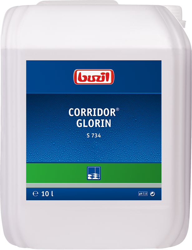 Corridor® Glorin, Buzil S734 - Dispersion - 10 Liter