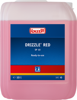Buzil SP 10 Drizzle Red - 10 Liter